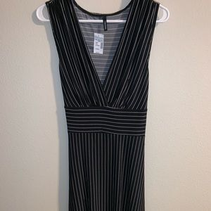 Brand new with tags Maurice's Black/White dress